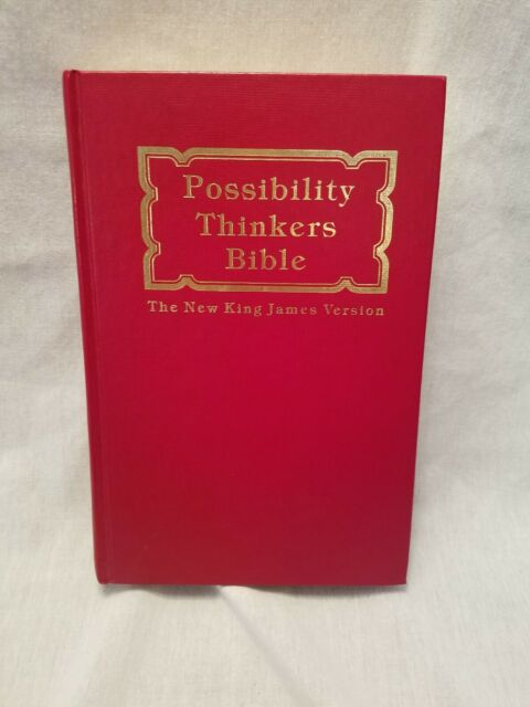 Possibility Thinkers Bible King James Version