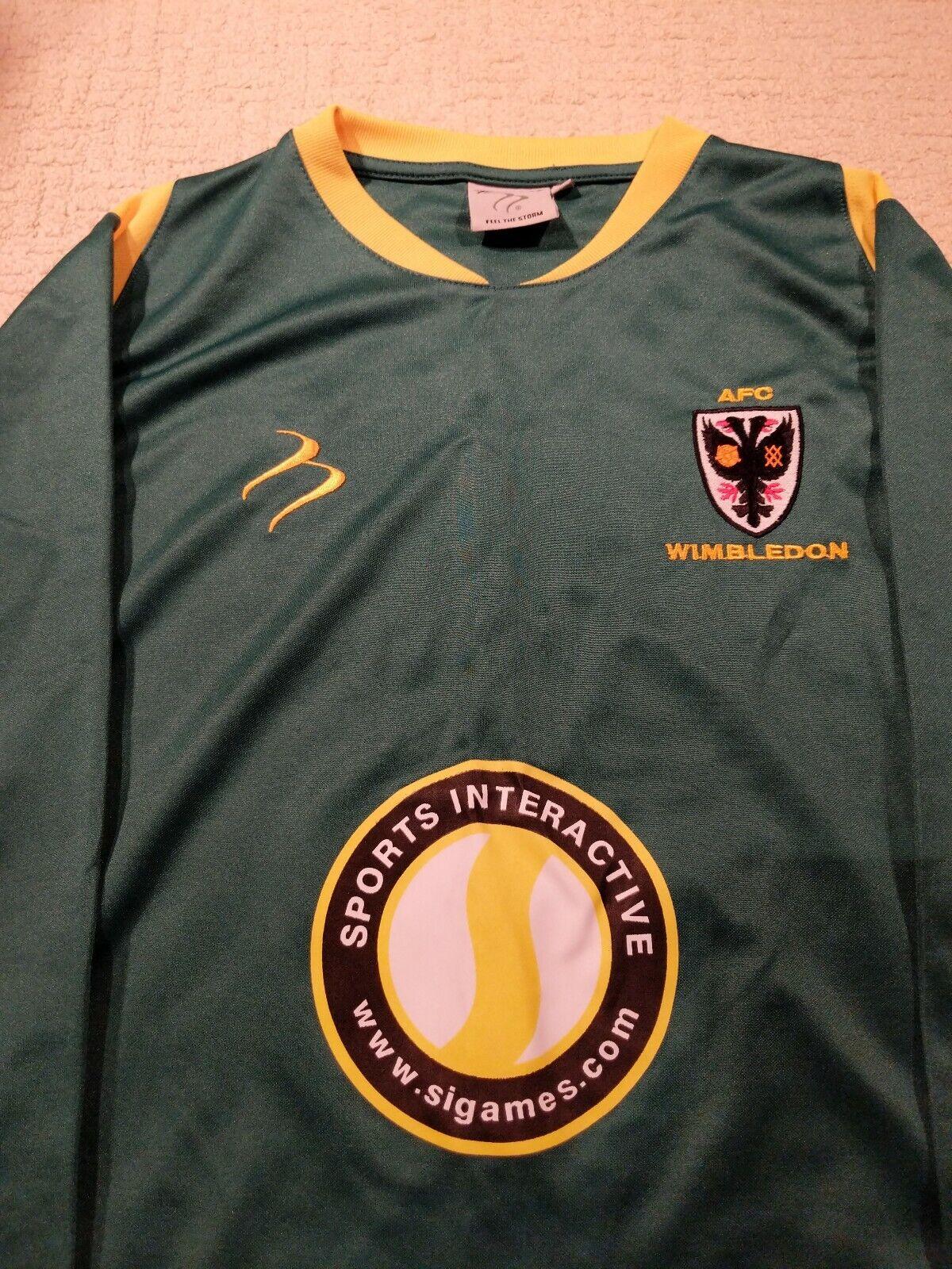 AFC Wimbledon  goalkeepers collector peace Size M (Medium) 2011 play off