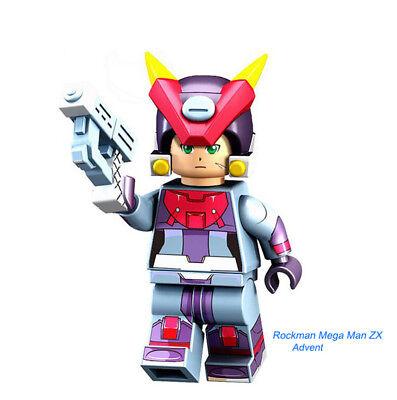 Mega Man Anime Series Rockman building toy block  Figures Gift Toys Model Kids