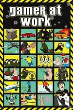 Gamer at Work : Montage - Maxi Poster 61cm x 91.5cm (new & sealed)