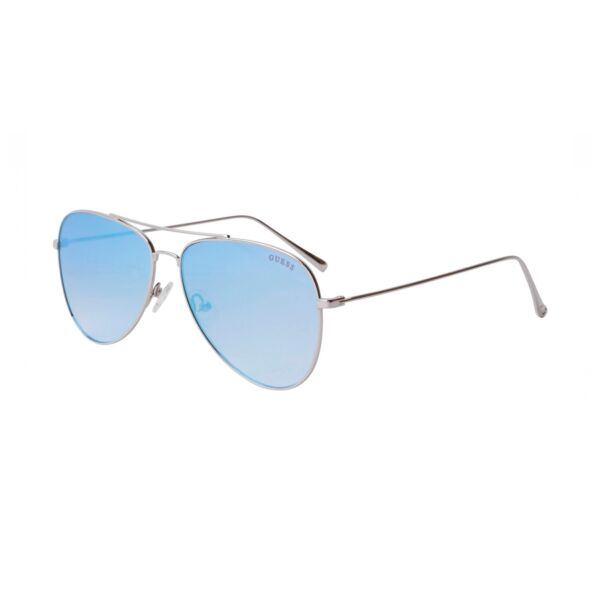 7221d2a8aba Buy GUESS Sunglasses Gf6035 11x With Silver Metal Frames online