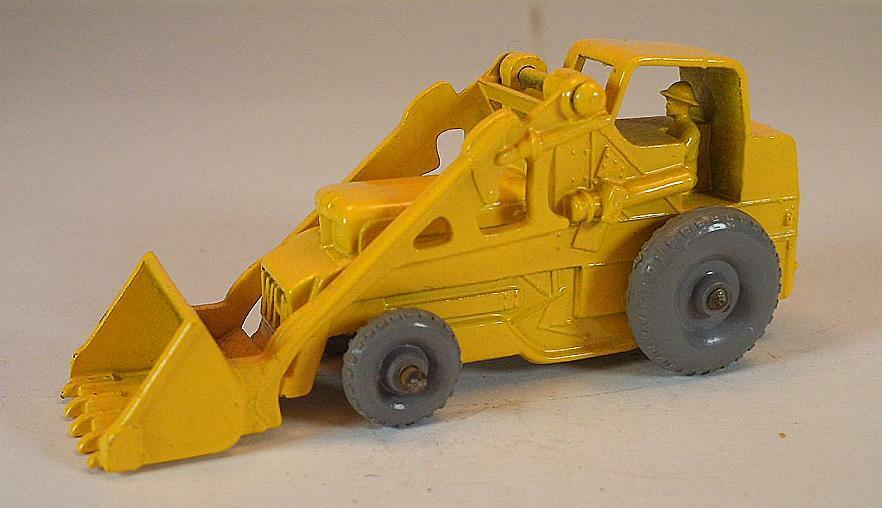 MATCHBOX REGULAR WHEELS Nº 24 B Weatherill Excavator jaune GPW LESNEY 1  354