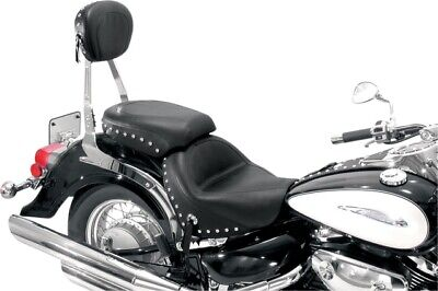 Mustang Wide 2-Piece Touring Seat Studded for 09-18 Suzuki VL800T