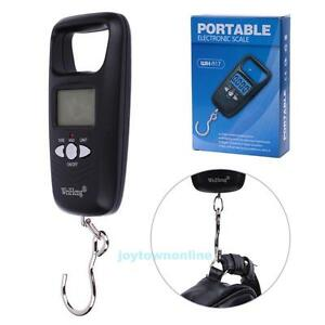 50kg/10g Digital Portable LCD Electronic Scale Luggage Fish Hanging Weight Scale
