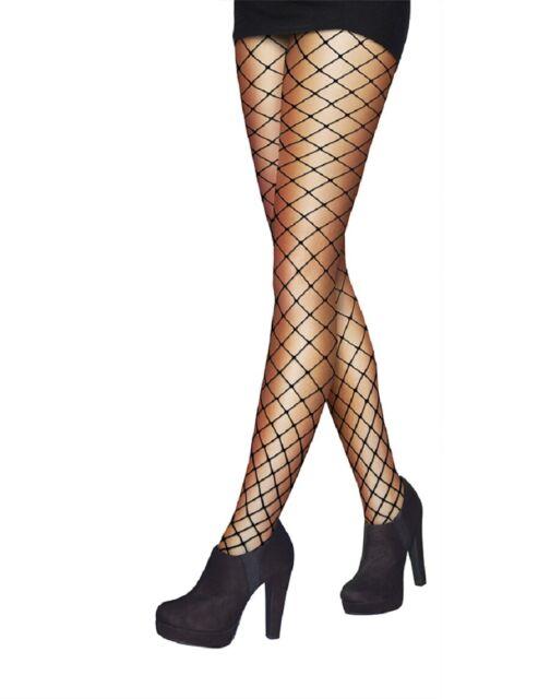 Pretty Polly Women/'s Spotty Lace Black One Size