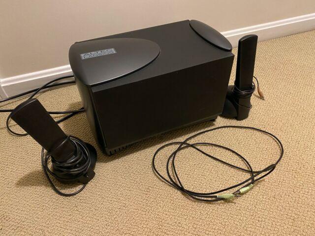 Altec Lansing ATP8 Multimedia Computer System Subwoofer Speaker Set