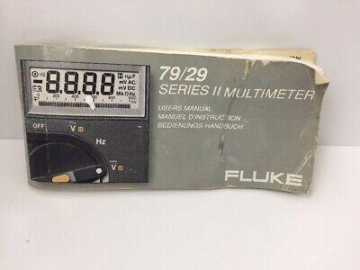 Business & Industrial Fluke 70 Ser 1;77/75/73/70/23/21 Ser 2;78/79 ...
