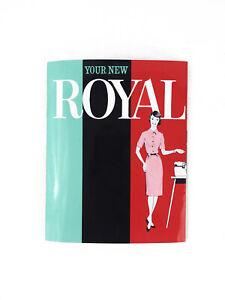 Royal Empress Typewriter User Instruction Manual