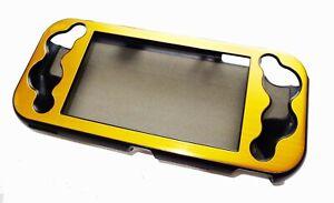 Nintendo-Switch-Lite-Console-Gold-Aluminium-Metallic-Shell-Case-UK