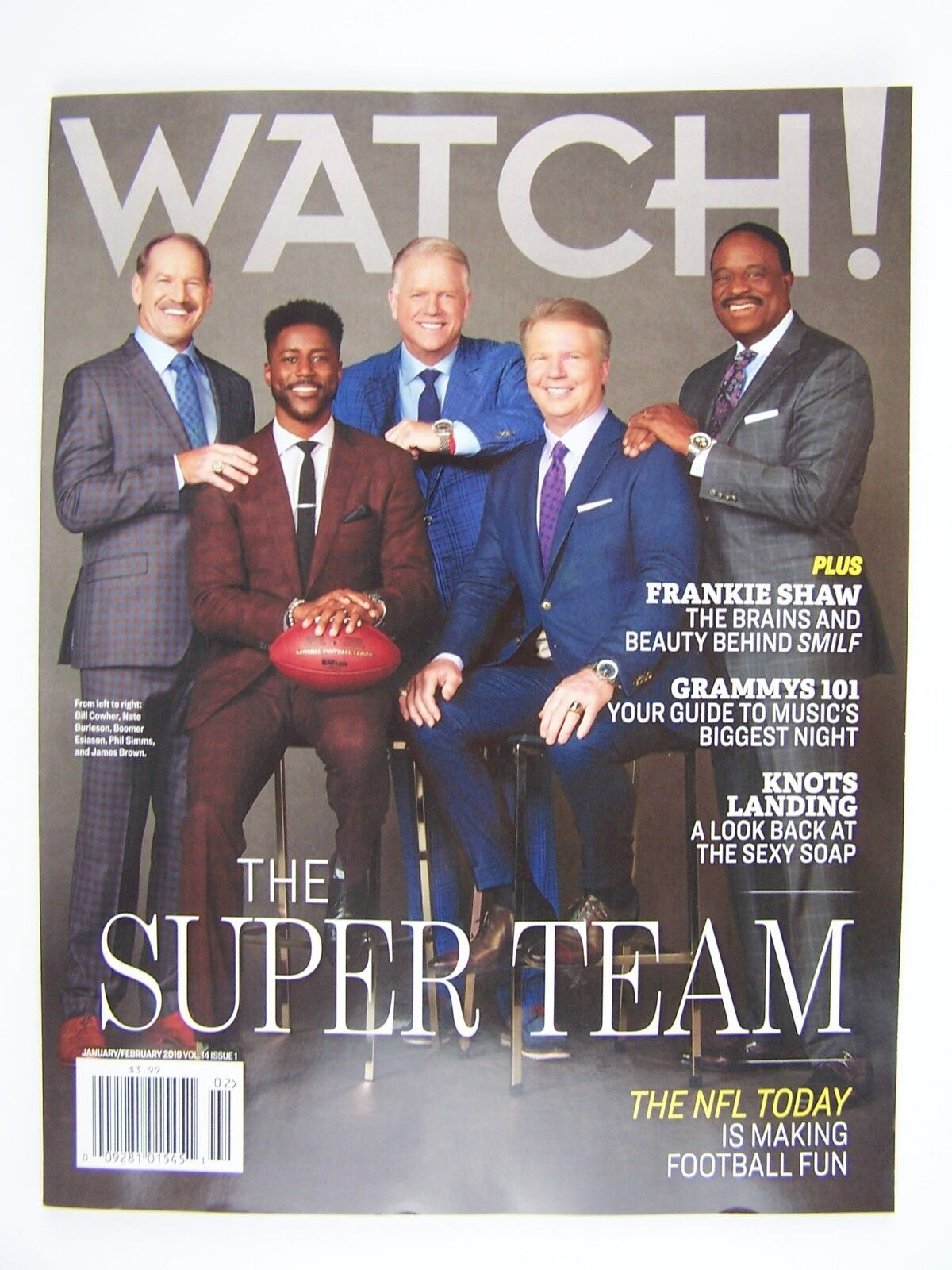 CBS Watch! Magazine January/February 2019 The NFL Today