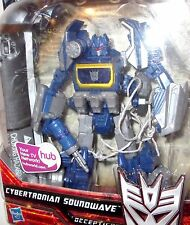 """Transformers Generations WFC Cybertronian Soundwave Advanced """"LOOSE"""" complete"""