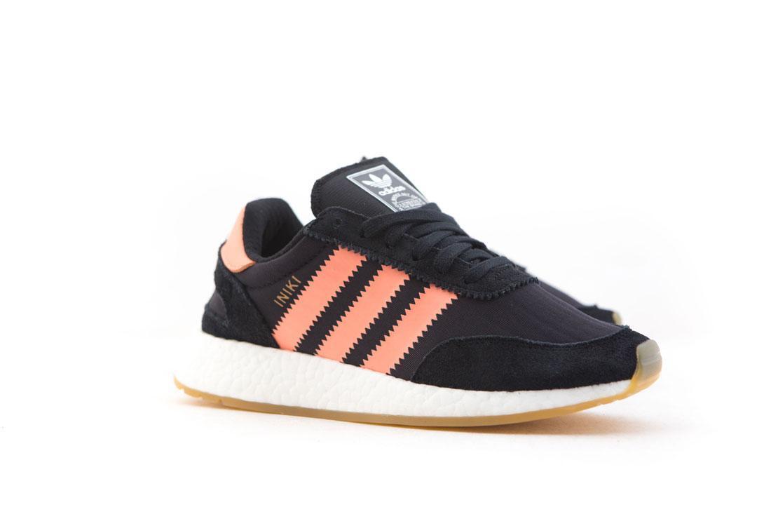 BY9098 Adidas Adidas Adidas Women I-5923 black semi flash orange gum d9b885