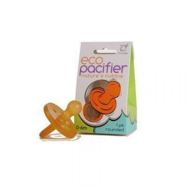 Ecopacifier Orthodontic Natural Pacifier 1 Pack ~ 0-6 Month