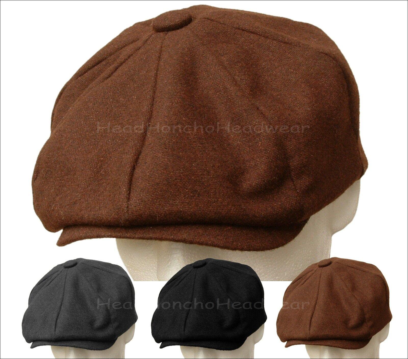 Light Weight Wool Blend Newsboy Cap Golf Gatsby Men Ivy Hat Golf Cap Driving Flat Cabbie 6db687
