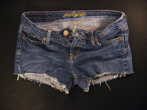 Pantaloncini Rise Jean W American Hipster Eagle Cutoff 30 Low Daisy Dukes qxntH6F
