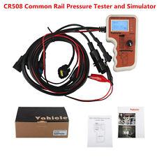 New CR508 Auto Car Common Rail Fuel Pressure Tester and Simulator Tool Universal