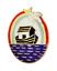 Royal Ark Mariner Fraternity Small Masonic Freemasonry Pin Badge