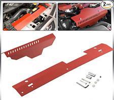 Black Perrin Alternator Pulley /& Belt Cover For 02-14 WRX 04-17 STi