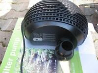 Jebao 3200 Gph Pond/waterfall Turtle Pump W/cage-pre-filter-shallow Water