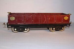 1920's Lionel Standard Guage No. 212, Gondola, Original #1
