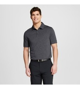 24f7c4a2c4f0d2 NWT C9 Champion Men s Gray Heather Striped Golf Polo Shirt - Size ...