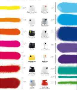 10-Spray-Can-Cap-MTN-MONTANA-COLORS-CHOOSE-YOUR-FAVOURITE-FAT-CAP-SKINNY-MORE