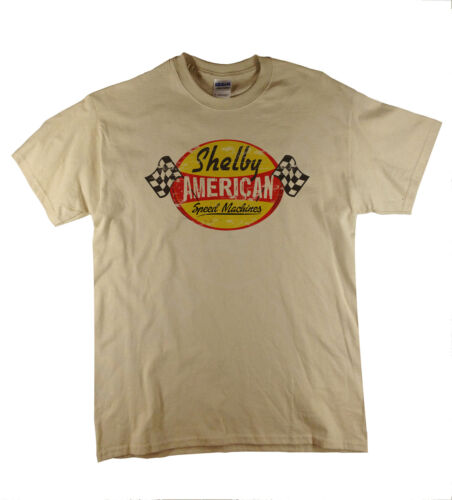 Shelby Speed Machines Cars Ford V8 Rétro Americana Naturelles T-Shirt