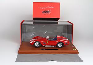 BBR Ferrari 250 TR59 60 Street Version w  Glass Cover 1 18 LE of 32 BBRC1805ST