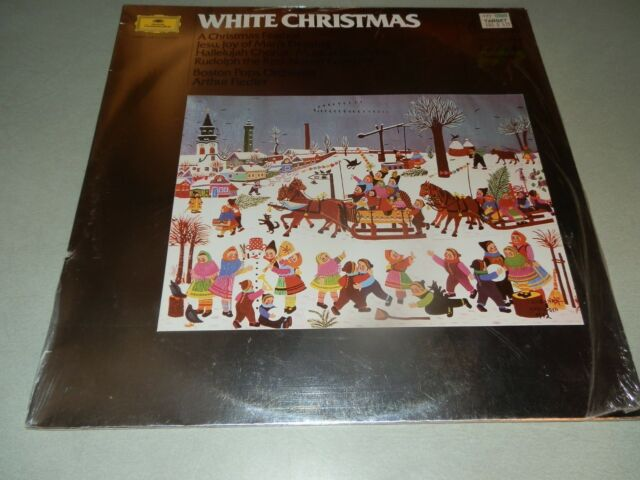 White Christmas In Germany.White Christmas Boston Pops Arthur Fiedler 86 Germany Sealed Lp