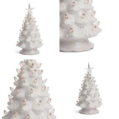 Milltown Merchants Ceramic Christmas Tree - Tabletop ...