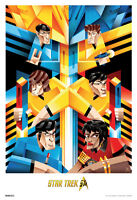 Star Trek Cubist Trek 50th Anniversary Tv Show Poster 13x19 on sale