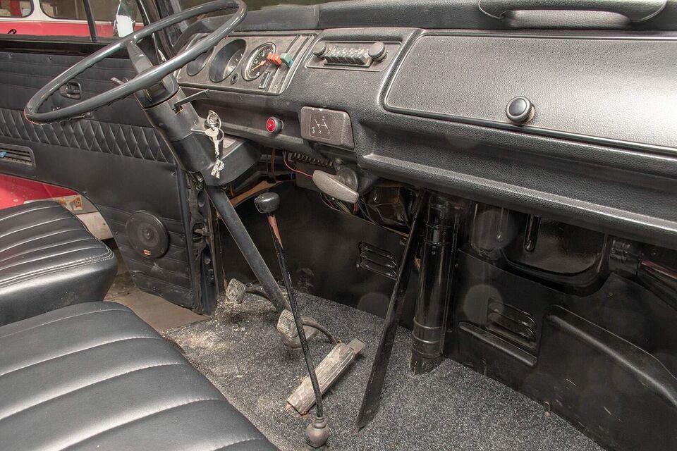 VW T2, 1,6 Db.Cab, Benzin