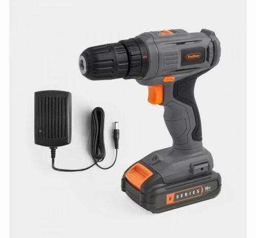 E-Series 18 V Perceuse sans fil conducteur Bundle métal 10 mm 20 mm bois 2 Vitesse Lumière DEL