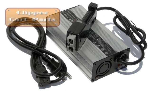 ez-go ezgo 36 volt golf cart battery charger, with pre 1995 sb50 plug