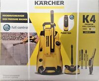 Karcher K4 Premium Full Control Home Pressure Washer Package T350 Patio Cleaner