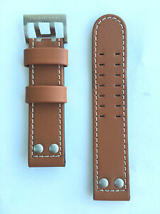 Original Hamilton Khaki X-Wind 22mm H776160 H777550  Brown Leather Band Strap