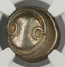 395-338 BC Boeotia Thebes AR Stater Ancient Silver Coin HI-KE NGC XF Choice PRX