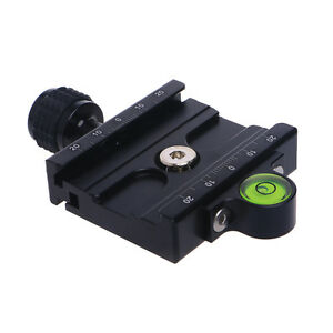 60mm-Clamp-QR60-Quick-Release-Plate-For-Compatible-Arca-Swiss-Tripod-Ball-Head