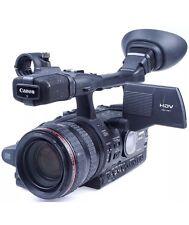 Canon XH A1S E HD 1080p MiniDV Camcorder Camera 2 Batteries