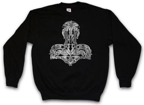 THOR /'s Hammer simbolo Felpa Celtic Odin Loki arsenico Asgard TYR Felpe Pullover