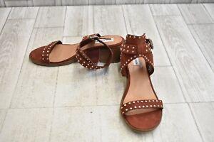 92d29723196ce4 Image is loading Steve-Madden-Gila-Studded-Leather-Sandals-Women-039-
