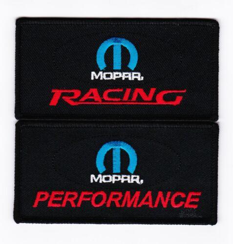 MOPAR RACING PERFORMANCE SEW//IRON ON PATCH EMBROIDERED DODGE DEMON HELLCAT HEMI