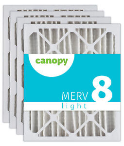 "20x30x1 Canopy Furnace AC Filter MERV 11 6pk 19 3//4/"" x 29 3//4/"" x 3//4/"""