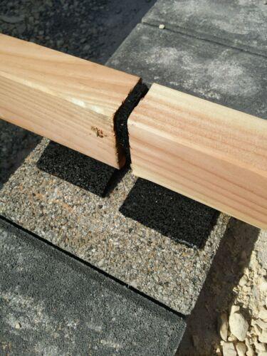 45€//m² 30 Stück 100x100x15mm Terrassenpads Gummigranulat Terrassen Pad