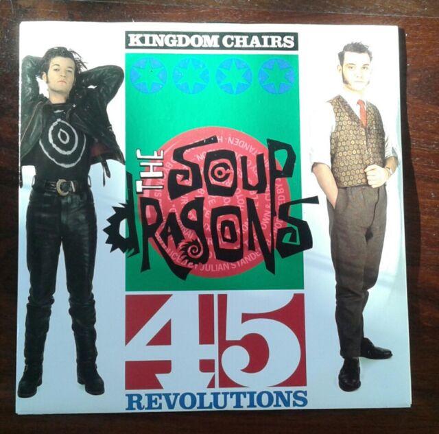 "Kingdom Chairs - Soup Dragons 7"" Vinyl Single"
