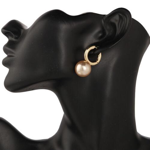 Fashion Femmes Parti Boucle d/'oreille en Alliage Perle Pendentif Géométrique Dangle Boucles d/'oreilles pendantes