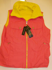 NWT Womens Ralph Lauren Polo Reversible Active Vest Jacket S Small NEW