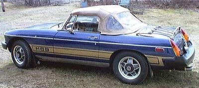 New 1962-1980 MG MGB Triple Lower Rocker Side Body Stripe Kit V8