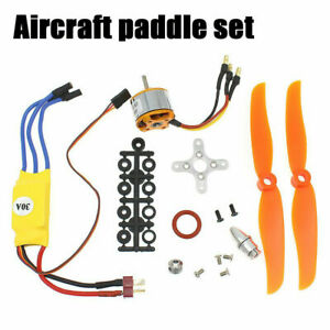 2200KV-342W-Brushless-2212-6-Electric-Motor-And-30A-ESC-for-RC-Plane-Helicopter