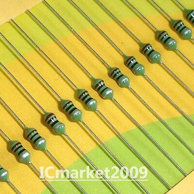 INDUCTOR:Axial Lead 5pcs per lot 27 uH 1//4 W 10/%